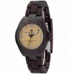 MAREA Herrenuhr B35297-7 WOOD LOOK Holz Uhr Damenuhr Holzuhr