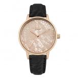 Daisy Dixon London Damenuhr DD051BRG Mae Armbanduhr Uhr Leder  Satinoptik