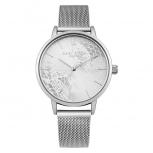Daisy Dixon London Damenuhr DD051SM Mae Armbanduhr Uhr Silber Satinoptik