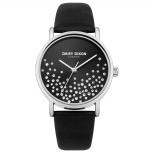 Daisy Dixon London Damenuhr DD053BS Astra Armbanduhr Uhr Leder schwarz