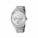 Esprit Damenuhr ES106262008 Armbanduhr Silver Multifunktion Uhr