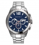 Esprit Herrenuhr ES108351005 Silber Uhr Chronograph Business
