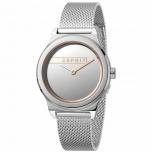 Esprit Damenuhr ES1L019M0075 Magnolia Uhr Silber Milanaise Armbanduhr