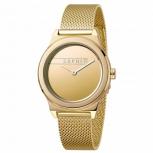 Esprit Damenuhr ES1L019M0085 Magnolia Uhr Gold Milanaise Armbanduhr