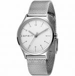 Esprit Damenuhr ES1L034M0055 Essential Uhr Silber Milanaise Armbanduhr