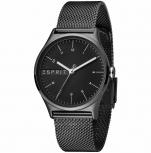 Esprit Damenuhr ES1L034M0095 Essential Uhr schwarz Milanaise Armbanduhr