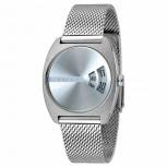 Esprit Damenuhr ES1L036M0075 Disc Uhr Silber Meshband Armbanduhr