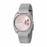 Esprit Damenuhr ES1L036M0085 DiscUhr Silber Meshband Armbanduhr
