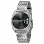 Esprit Damenuhr ES1L036M0095 Disc Uhr Silber Meshband Armbanduhr