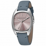 Esprit Damenuhr ES1L038L0045 Infinity Uhr Silber Leder Armbanduhr