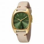 Esprit Damenuhr ES1L038L0055 Infinity Uhr Gold Leder Armbanduhr