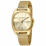 Esprit Damenuhr ES1L038M0095 Infinity Uhr Gold Milanaise Armbanduhr
