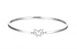 Esprit Damen Armband ESBA01179A Armreif Schmetterling Silber