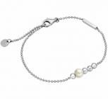 Esprit Damen Armband ESBR00201118 Powder Silber 925 Schmuck Armkette Perle