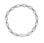 Esprit Damen Armband ESBR11879A Silber Armband Stretch