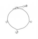 Esprit Damen Armband ESBR91792A Herz Love Liebe Silber Armkette