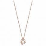 Esprit Damen Kette ESNL03223C Rosegold Halskette Sternzeichen Krebs