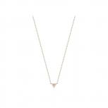 Esprit Damen Kette ESNL03414C Rosegold Dreieck Halskette