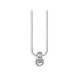 Esprit Damen Kette ESNL91286 Charm Silberkette Halskette Silber
