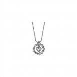 Esprit Damen Kette ESNL92073A Pellet Heart Silver