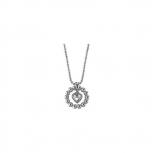 Esprit Damen Kette ESNL92073A Halskette Silber Herz Collier Heart