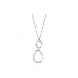 Esprit Damen Kette ESNL92449A Halskette Collier Brilliance