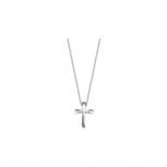 Esprit Damen Kette ESNL92643A420 BELIEF Kreuz Halskette Collier