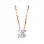 Esprit Damen Kette ESNL93126C420 Silber Rosé Halskette