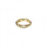 Esprit Damenring ESRG92321B Soltiär Ring Gr 18 Gold