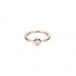 Esprit Damenring ESRG92424 Rose Ring Gr 18 Solitärring Silber
