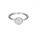 Esprit Damenring ESRG92511A17 Silber  ROSE Ring Gr. 17
