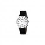 Festina Damenuhr F16477-1- Leder Silber Uhr Armbanduhr