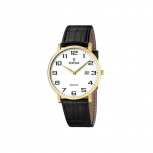 Festina Herrenuhr F16478-1 Business Uhr Gold Armbanduhr