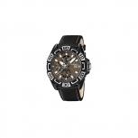 Festina Herrenuhr F16584-7 Multifunktionsuhr Armbanduhr Leder Uhr