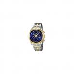 Festina Herrenuhr F16655-3 Sport Chronograph Gold Silber Uhr