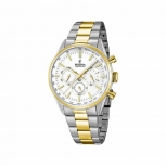 Festina Herrenuhr F16821-1 Sport Chronograph Armbanduhr Gold Chrono Uhr