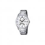Festina Herrenuhr F16822-1 Datum Silber Business Armbanduhr Uhr
