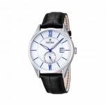 Festina Herrenuhr F16872-1 Elegant Business Uhr Armbanduhr Leder