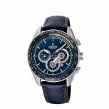 Festina Herrenuhr F20202-2 Sport Chronograph Armbanduhr Blau Chrono Uhr