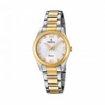 Festina Damenuhr F20209-1 Bicolor Gold Silber Uhr Armbanduhr