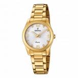 Festina Damenuhr F20210-1 Gold Uhr Armbanduhr Schmuckuhr