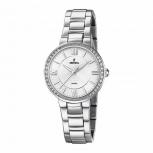 Festina Damenuhr F20220-1 Schmuckuhr Silber Uhr Armbanduhr