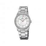 Festina Damenuhr F20232-1 Schmuckuhr Silber Uhr Armbanduhr Perlmutt