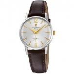 Festina Damenuhr F20254-2 Schmuckuhr Mini 28 mm kleine Gold Uhr