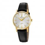 Festina Damenuhr F20255-1 Schmuckuhr Mini 28 mm kleine Gold Uhr