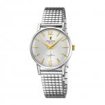 Festina Damenuhr F20256-2 Schmuckuhr Mini 28 mm kleine Silber Uhr