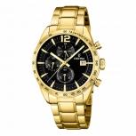 Festina Herrenuhr F20266-3 Sport Chronograph Armbanduhr Gold Chrono Uhr