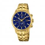 Festina Herrenuhr F20269-2 Sport Chronograph Armbanduhr Gold Chrono Uhr
