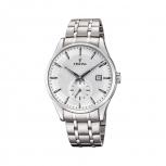 Festina Herrenuhr F20276-1 Armbanduhr Uhr Silber kleine Sekunde