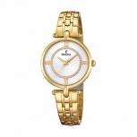 Festina Damenuhr F20317-1 Schmuckuhr Gold Uhr Armbanduhr